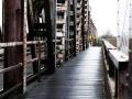 """Die """"Friesenbrücke"""" führt bei Weener über die Ems."""