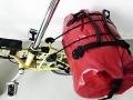 Tasche auf Gepäckträger