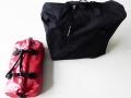 Nur zwei Gepäckstücke