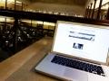 Laptop im Lesesaal