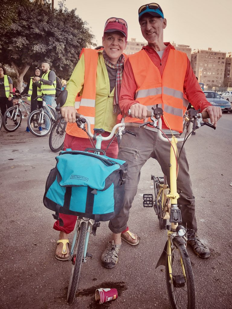 Cairo Cycling Brompton